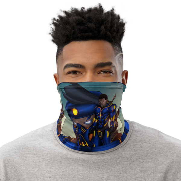 Obsidian X Gaiter Mask (Wildcard Chronicles)