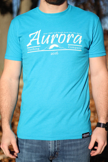 Aurora Retro Men's T-shirt
