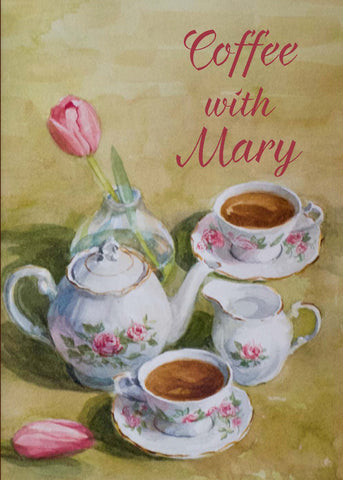 Coffee With Mary Booklet <br> Suggested Donation $5