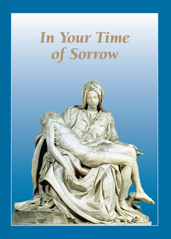 Pieta Memorial Mass Card <br> Suggested Donation $10