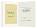 Book of Remembrance Memorial Card and Mass <br> Suggested Donation $30