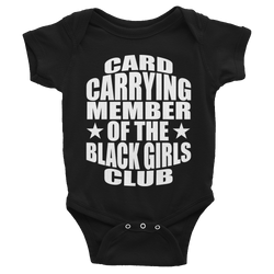 Black Girls Club Baby Girl T-Shirt