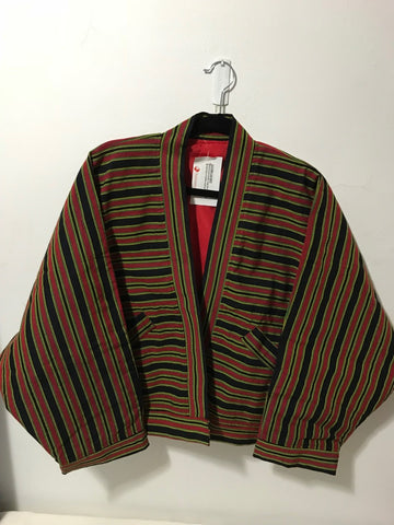 NATIBO JACKET - Black & Red