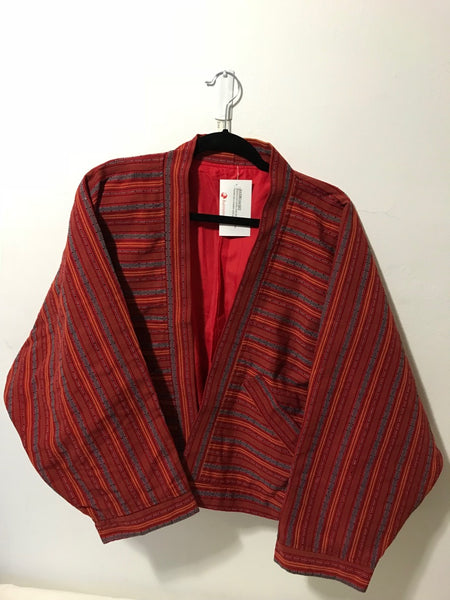 NATIBO JACKET - Red Kalinga