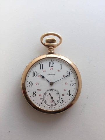 Vintage Zenith Pocketwatch