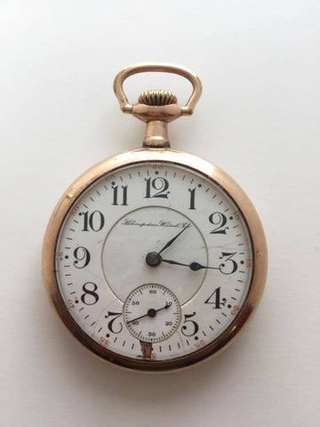 Vintage Hampden Watch Company Pocket Watch