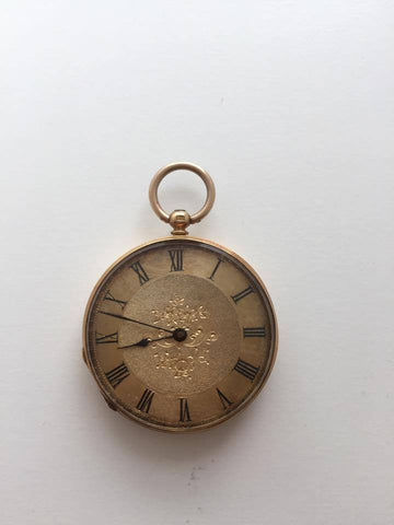 Vintage 18kt Pocket Watch