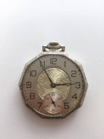 Vintage South Bend Pocket Watch