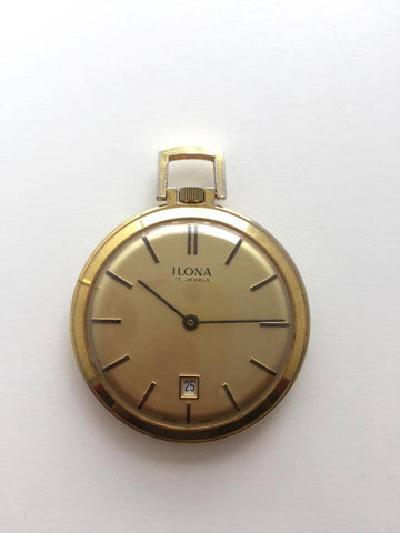 Vintage Ilona Pocket Watch