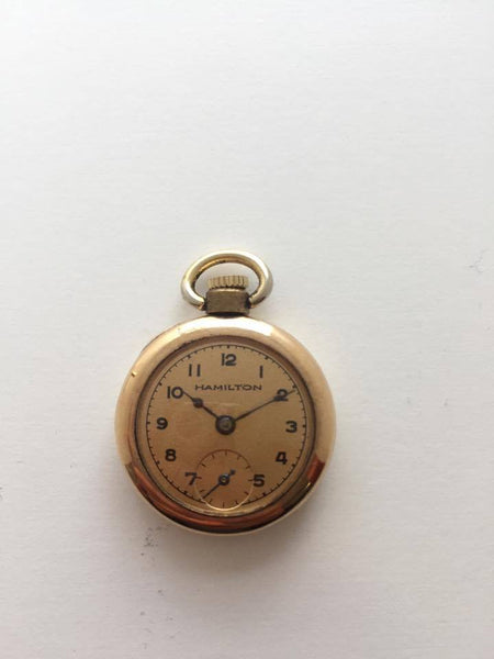 100 year old Hamilton Pocket Watch