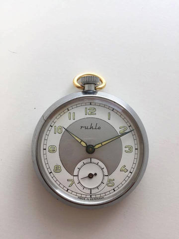 Vintage Ruhla Pocket Watch