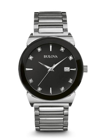 96D121 Diamond - Bulova Mens