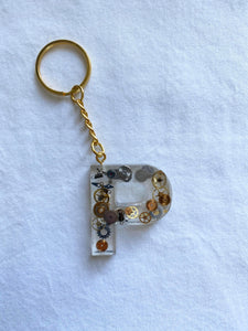 Custom Watch Gear Letter Key Chain