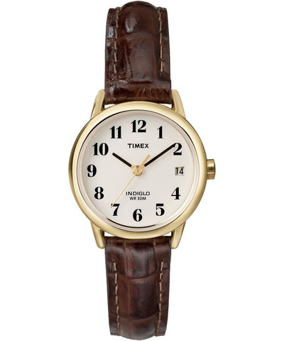 T20071AW- Easy Reader 25mm Leather Strap Watch