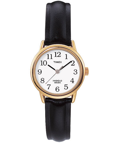 T2H341AW - Easy Reader 25mm Leather Strap Watch