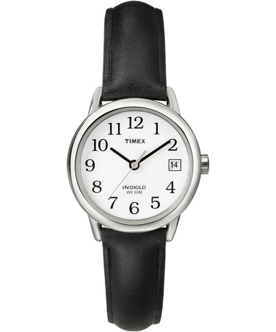 T2H331GP - Easy Reader 25mm Leather Strap Watch