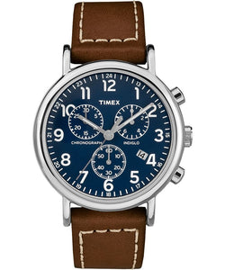 Weekender Chronograph 40mm 2-piece Leather Strap Watch