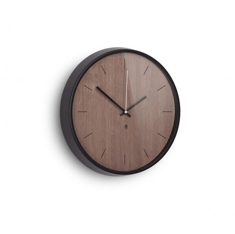 Madera Wall Clock- Walnut