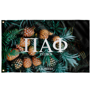 Pi Alpha Phi Pineapple Flag1