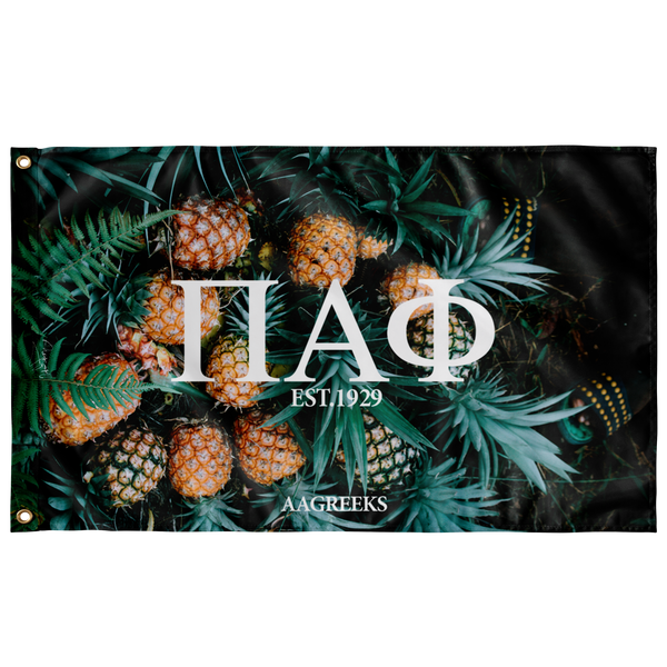 Pi Alpha Phi Pineapple Flag