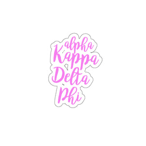aKDPhi Flower Stickers