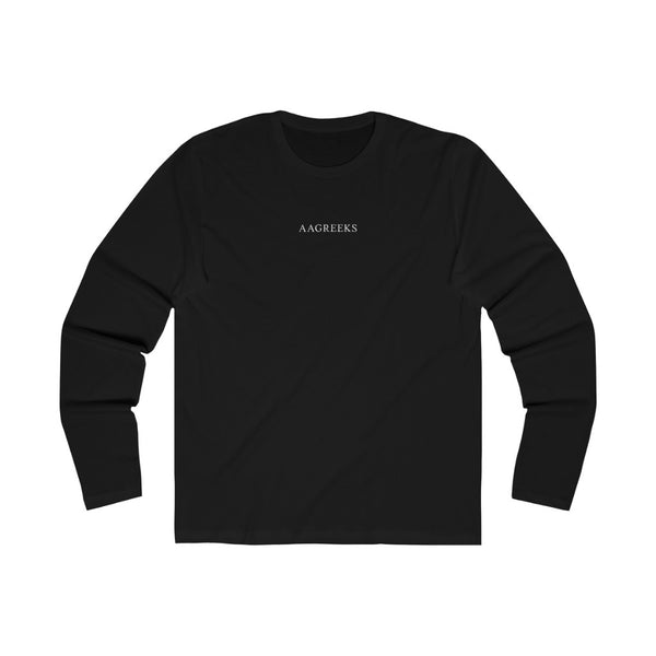 NO PLACE FOR GRAPHIC LONG SLEEVE TEE IN BLACK