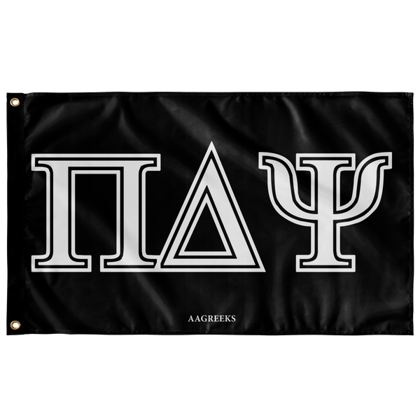 Pi Delta Psi - Black Flag