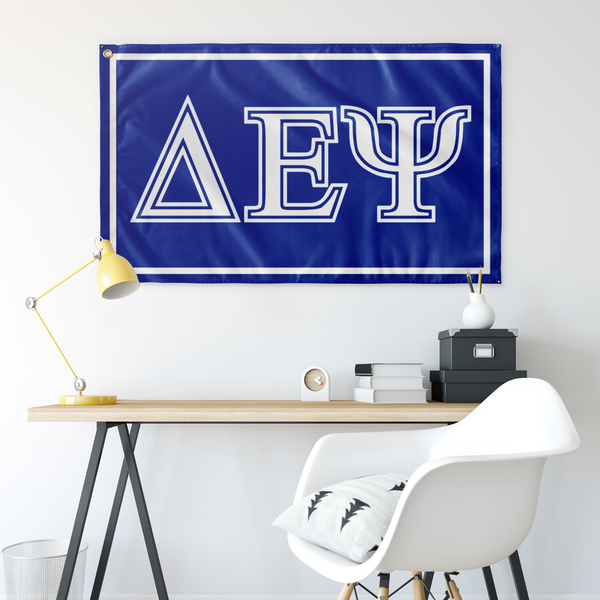 Delta Epsilon Psi Flag - Simple
