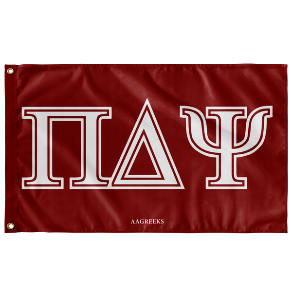Pi Delta Psi - Red Flag