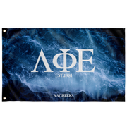Lambda Phi Epsilon Waves Flag