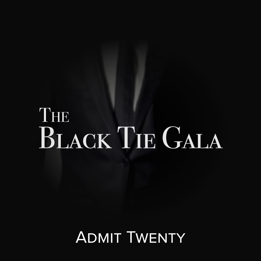Black Tie Gala - 2 Tables for 20