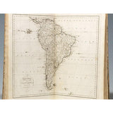 1796 The American Atlas, First Edition Published by John Reid