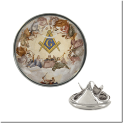 Battle of Ridgefield Masonic Lapel Pin