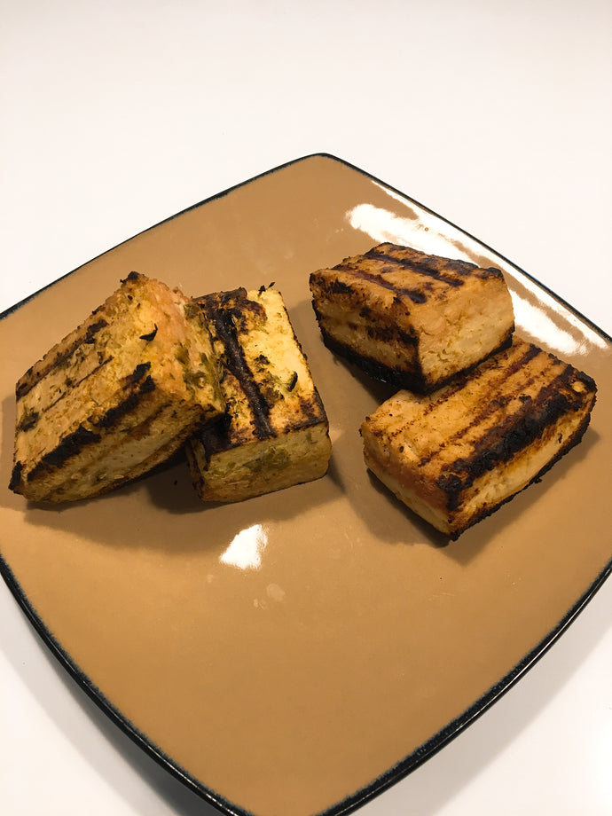 2 Ways Marinated Tofu