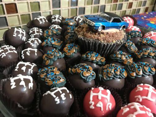 Stick shift cakeballs