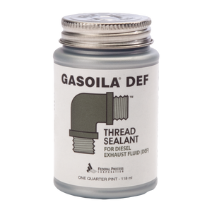 A one quarter pint can of Gasoila DEF Thread Sealant