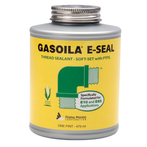 A one pint can of Gasoila E-Seal Thread Sealant with PTFE