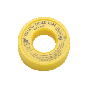 A roll of Thred Tape - Yellow for Gas