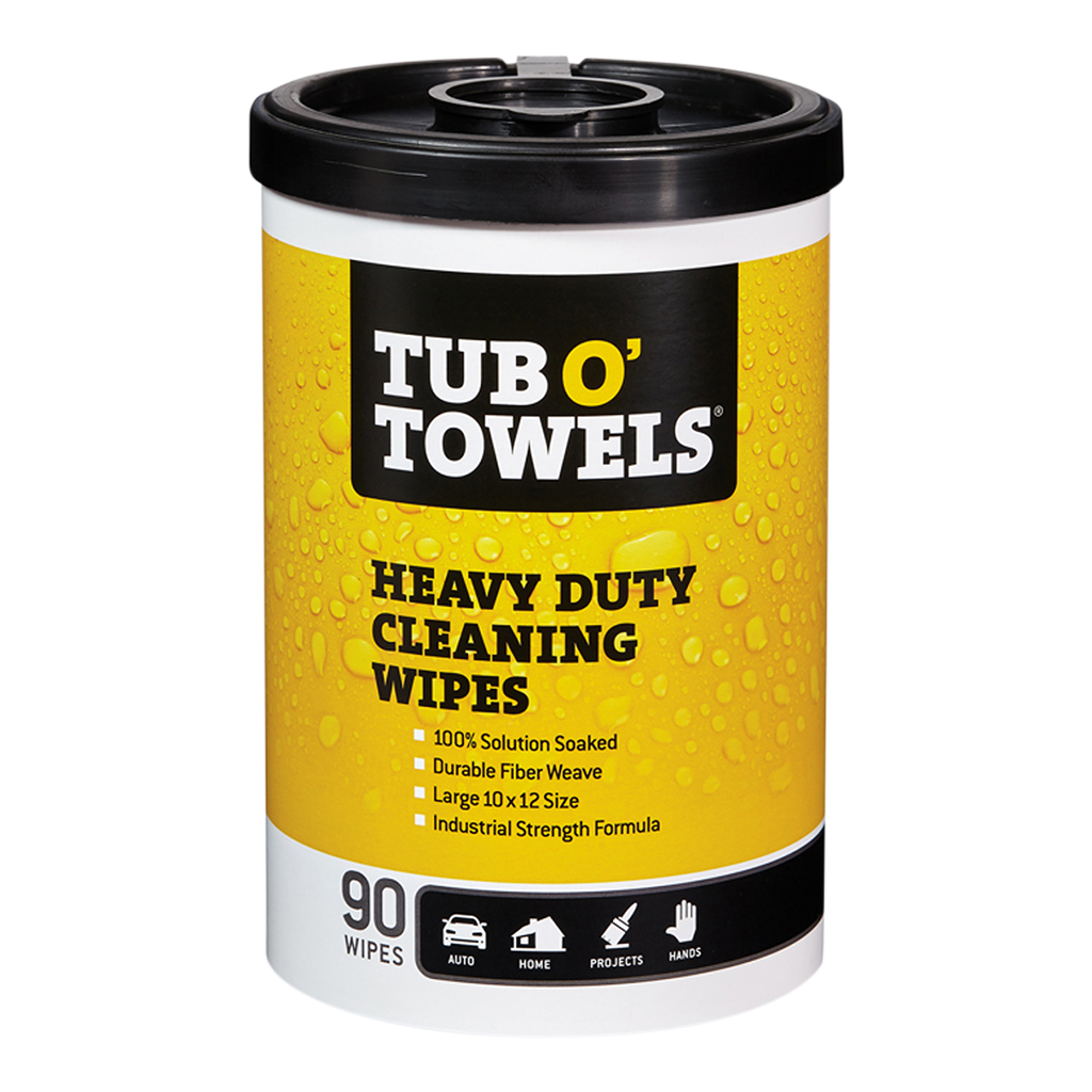 Buy 40 Count Tub O Towels Heavy Duty Cleaning Wipes