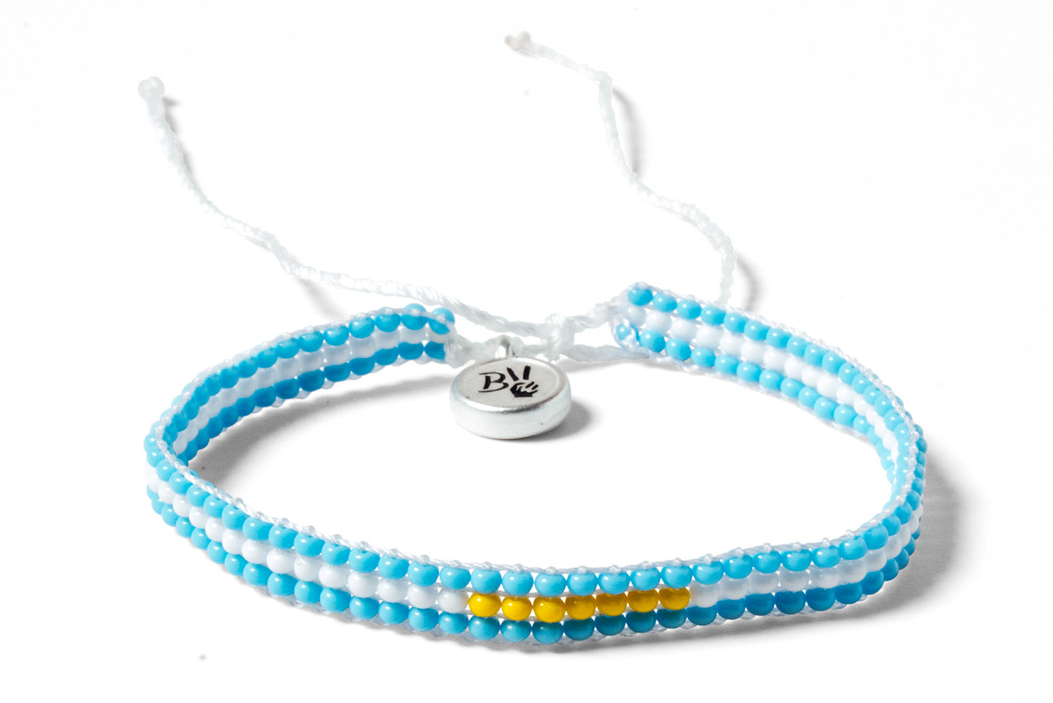 Argentina World Cup Beaded Bracelet