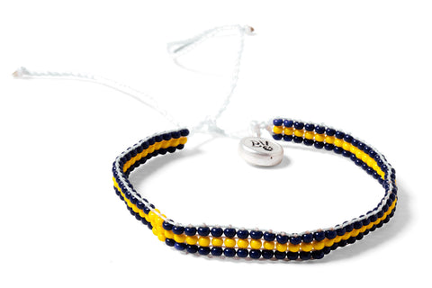 Sweden World Cup Beaded Bracelet