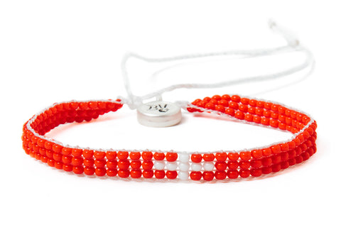 Switzerland Beaded Bracelet