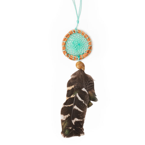 The Peace Dream Catcher (Teal)