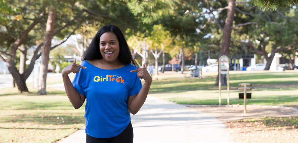 GirlTrek Off-Shoulder Tee