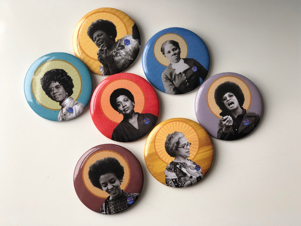 All Hail the Queens- Foremothers Button Pack