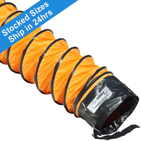 """Air Ventilator Orange"" Flexible Ducting"
