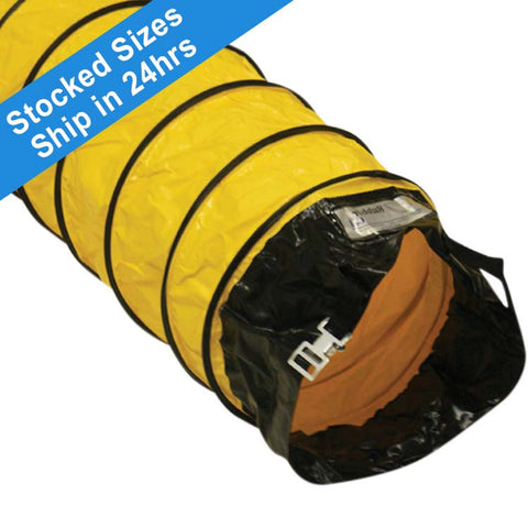 """Air Ventilator Yellow"" Flexible Ducting Hose"