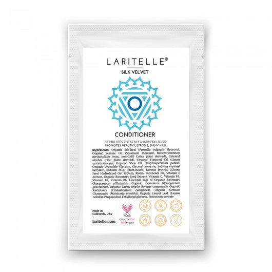 Laritelle Organic Conditioner Silk Velvet 1 oz (sample)