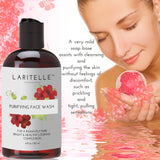 Laritelle Organic Purifying Face Wash 4 oz