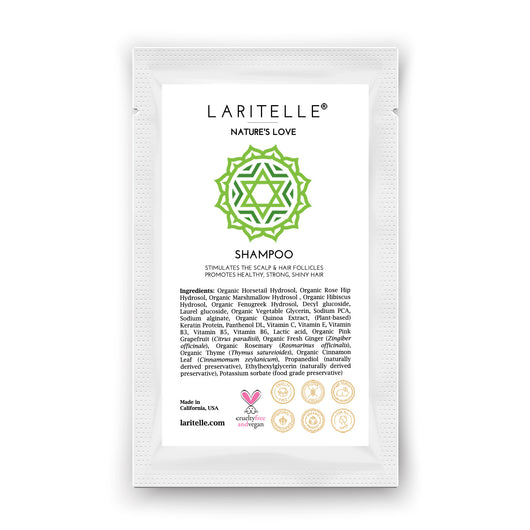 Laritelle Organic Shampoo Nature's Love 1 oz (sample)